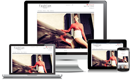 Picture of Fashion Minimal Responsive Theme