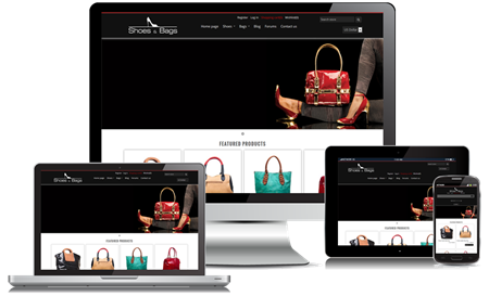 Picture of Shoes & Bags Responsive Theme