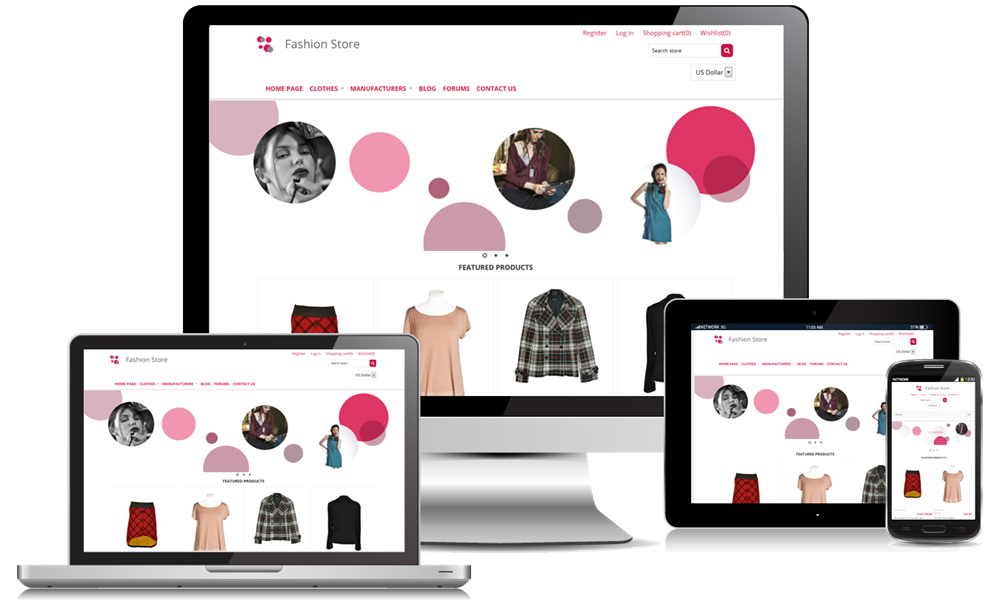 Nopcommerce fashion clean responsive theme nopservices for Nop commerce templates