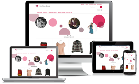 Picture of Fashion Clean Responsive Theme